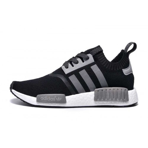 Discount New Style Adidas NMD_R1 Runner PK Black Grey