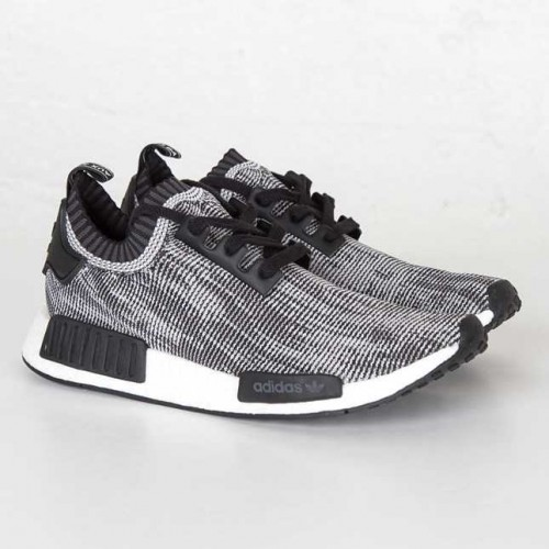 Fashion Adidas NMD_R1 Runner PK Core Black Footwear White