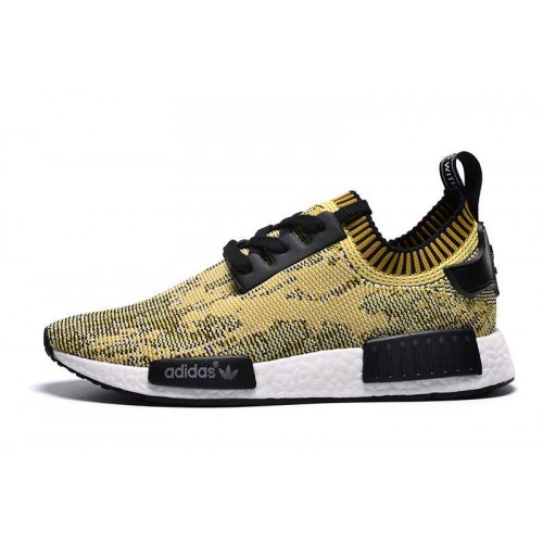 Buy Discount Adidas NMD_R1 Runner PK Yellow Camo