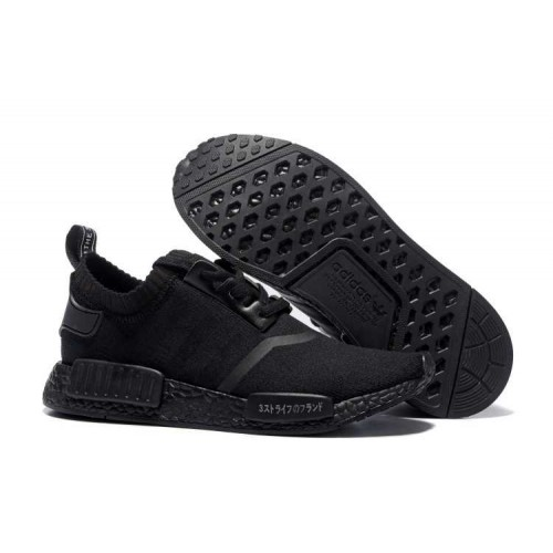 Cheapest Authentic Adidas NMD_R1 Runner Triple Black Boost men women