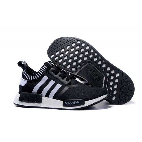 Best Cheap 2016 New! Adidas NMD_R1 Runner black White men women