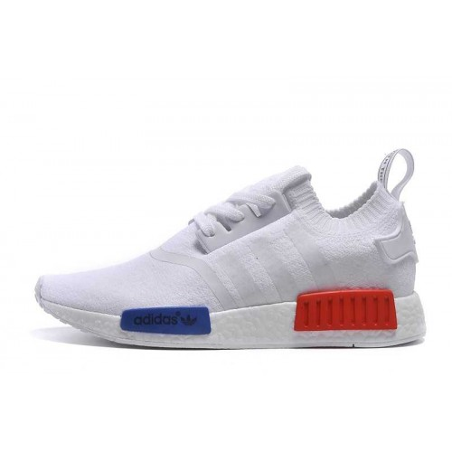 Cheap Official Adidas NMD_R1 Runner men women white