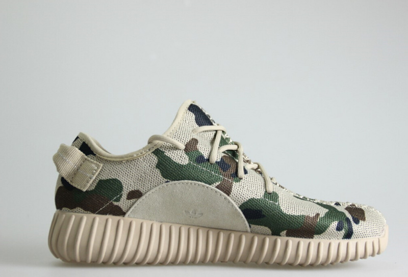 "adidas Yeezy 350 Boost ""Camo"" - Women's Light Stone/Camo"