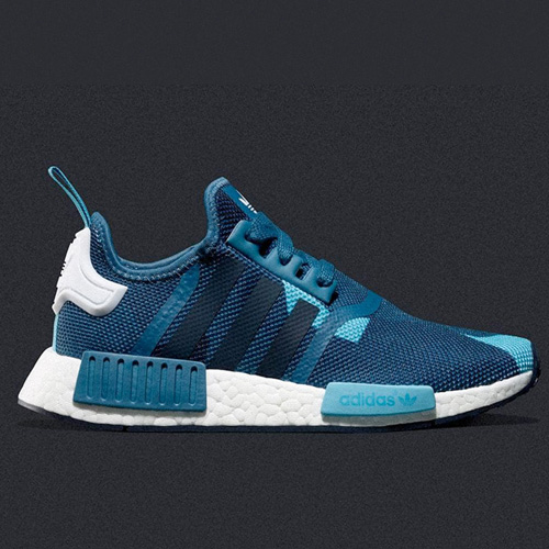 Super Cheap adidas NMD_R1 Blanch Blue Runner S75722