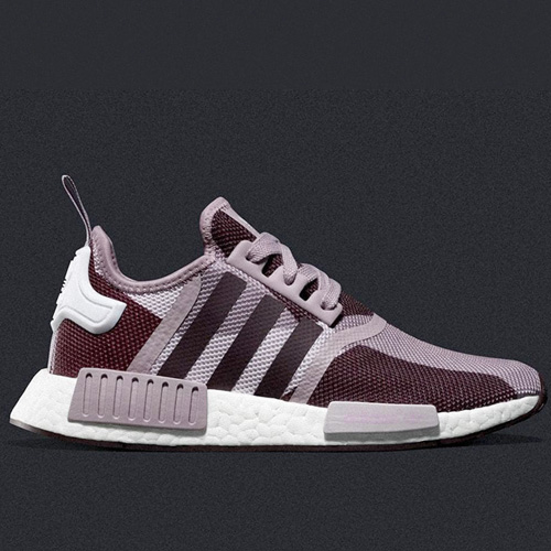 Wholesale adidas NMD_R1 Blanch Purple MEN WOMEN S75721
