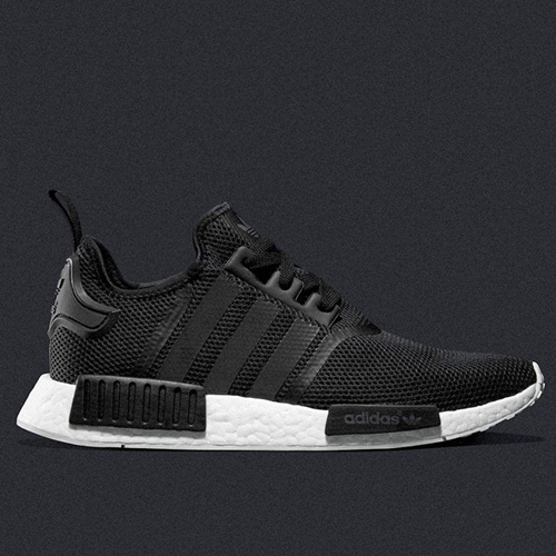 2016 Best Cheap adidas NMD_R1 Black Mesh S79165