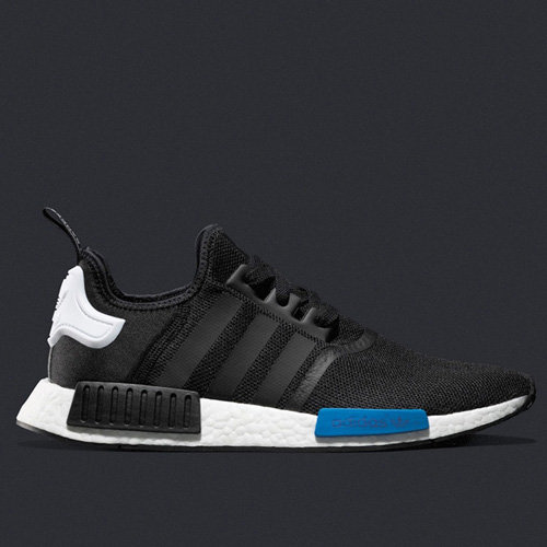 Wholesale official adidas NMD_R1 Black / White Runner S79162