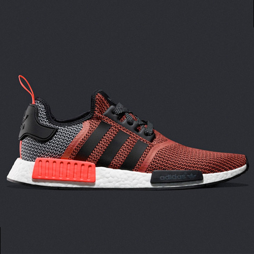 Wholesale adidas NMD_R1 Lush Red runner men shoes S79158