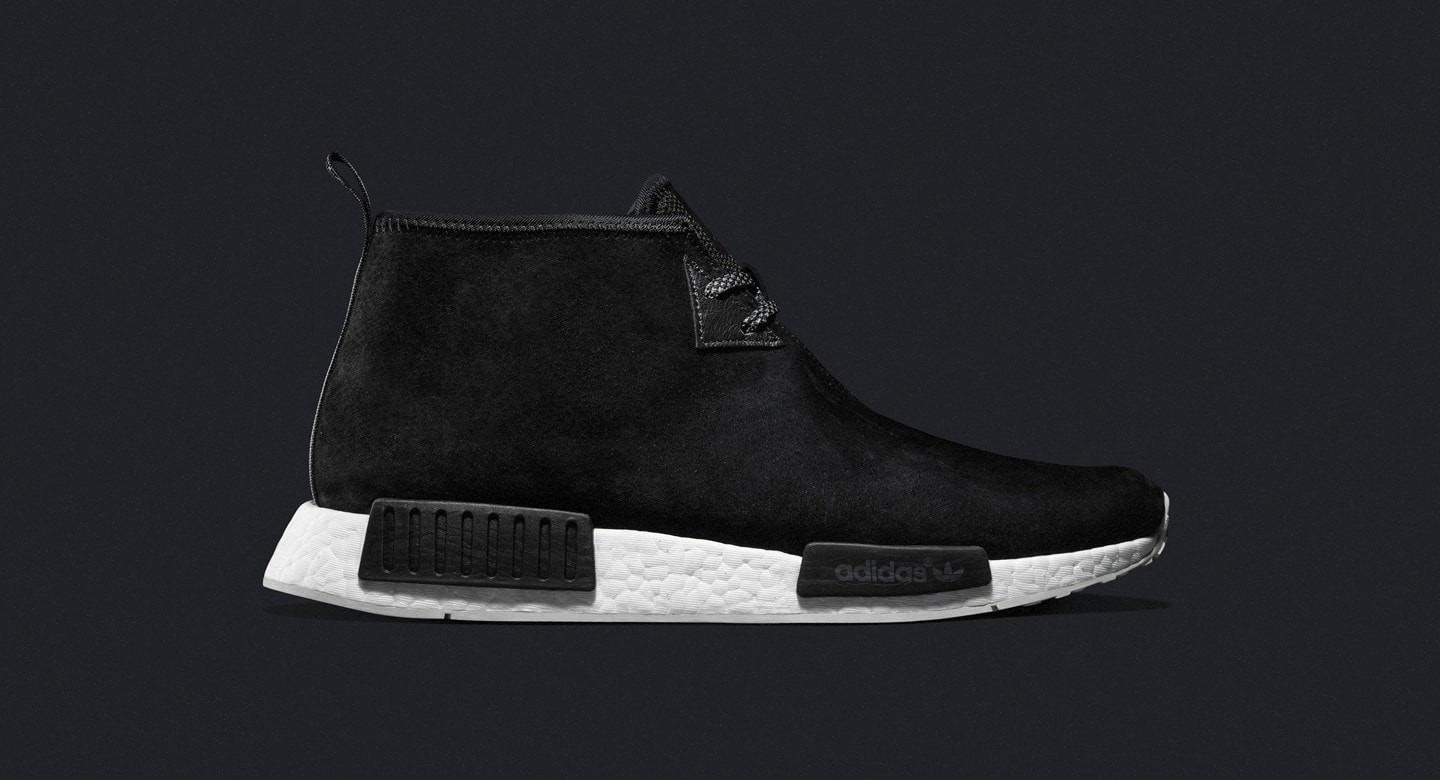 Adidas NMD_C1 Chukka Black sneakers S79146 boost mens